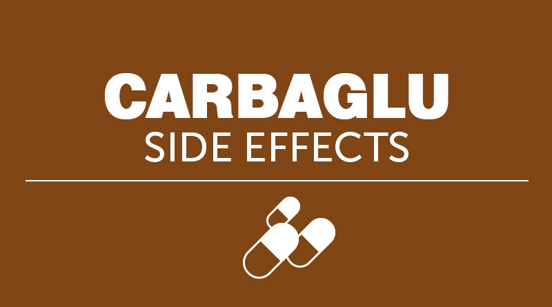 Carbaglu Side Effects