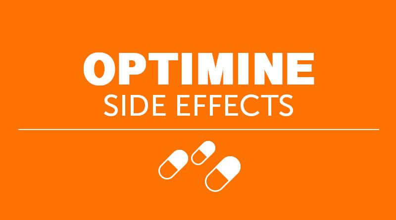 Optimine Side Effects