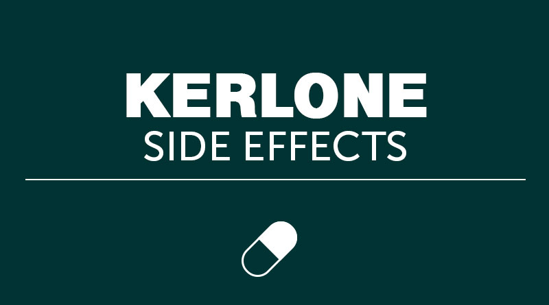 Kerlone Side Effects